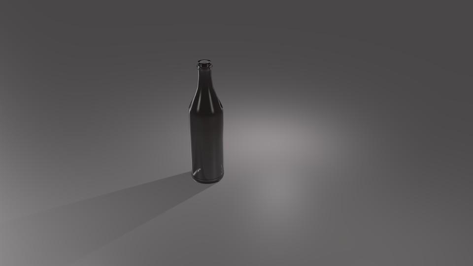 The Bottle in Blender